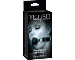 Дышащий кляп FF Series Limited Edition Breathable Ball Gag Black
