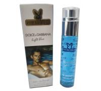 Духи с феромонами Dolce Gabbana light blue eau intense мужские 45 мл
