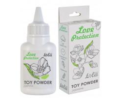 Пудра для игрушек Love Protection с ароматом жасмина 15 гр