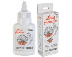 Пудра для игрушек Love Protection с ароматом апельсина 15 гр