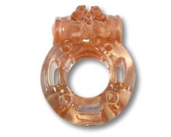 Эрекционное кольцо Luxe Ужас альпиниста и презерватив в подарок