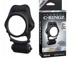 Двойное эрекционное кольцо с вибрацией Hard Vibrating Ring
