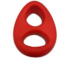Двойное эрекционное кольцо x-men красное