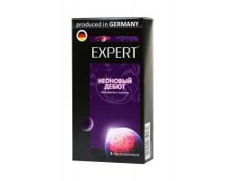 Презервативы светящиеся в темноте Expert Неоновый дебют 8 шт