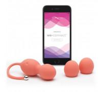 Вагинальные шарики с вибрацией We-Vibe Bloom управляемые смартфоном