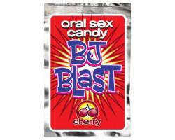 Шипучие конфеты для орального секса со вкусом вишни