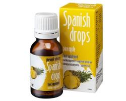 Капли Spanish Drops Pineapple Pleasure для двоих со вкусом ананаса 15 мл