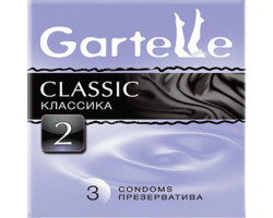 Презервативы Gartelle № 3 Classic Классика