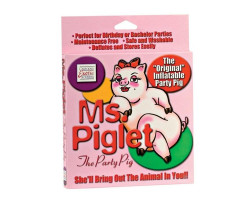 Кукла надувная свинка Ms. Piglet