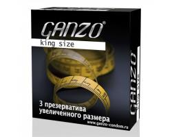 Презервативы Ganzo King Size №3 увеличенный размер
