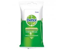 Влажные салфетки Dettol антибактериальные 10 шт