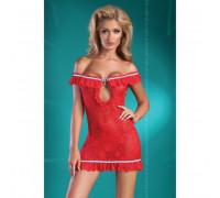 Красная сорочка в испанском стиле Mija S/M