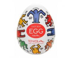 Мастурбатор яйцо Tenga Keith Haring Dance