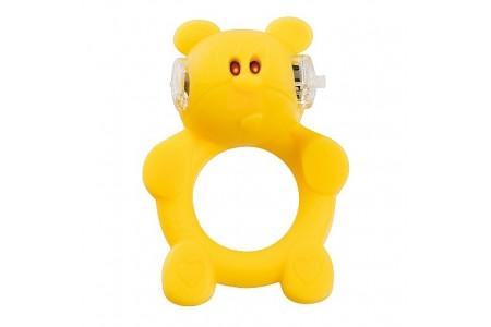 Виброкольцо Брутальный медвежонок Brutal Bear