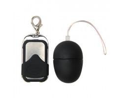 Черное яйцо стимулятор I Love Egg с радиопультом