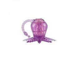 Вибростимулятор Осьминог пурпурный