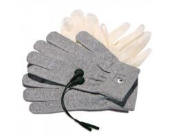 Перчатки для чувственного электромассажа Mystim Magic Gloves