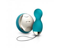 Вагинальные шарики Lelo Hula Beads Ocean Blue на дистанционном пульте управления