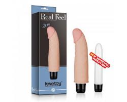 Вибратор Real Feel cyberskin Vibrator 14,5 см