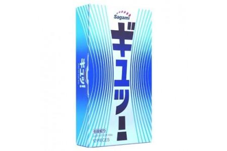 Презервативы Sagami №12 c волнообразной текстурой 6 Fit V