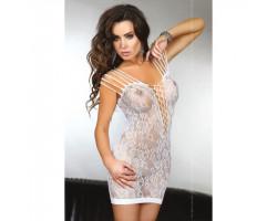 Соблазнительное белое платье Sheetal S/L