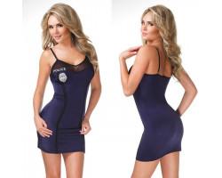 Обтягивающее платье полицейского