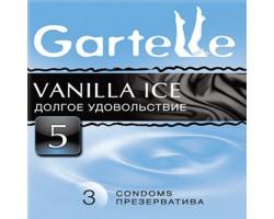 Презервативы Gartelle № 3 Vanilla ice Долгое удовольствие