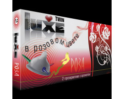 Ароматизированные презервативы Luxe №2 В Розовом Цвете Роза