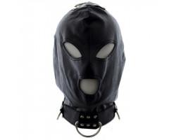 Бондажный шлем с кольцами