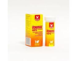 Йохимбе форте+витамины таблетки шипучие 10шт
