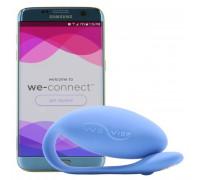Smart вибратор We-Vibe Jive с дистанционным управлением синий