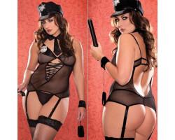 Девушка полицейский XL