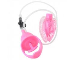 Вакуумная помпа вагинальная с вибрацией FF Vibrating Mini Pussy Pump