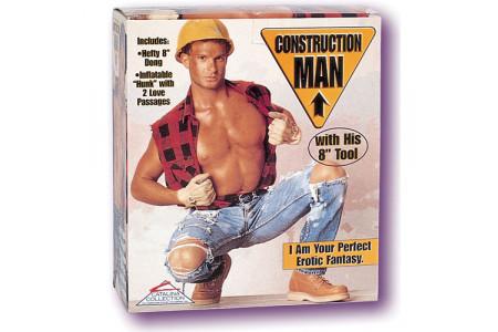 Кукла-мужчина Construction Man с фаллосом
