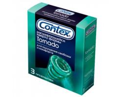 Презервативы Contex №3 Tornado расширяющейся кверху формы