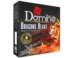 Презервативы ароматизированные Domino Premium Dracon s Heart 3 шт