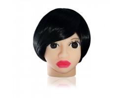 Мастурбатор в виде головы брюнетки Susie