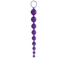 Анальная цепочка Sexy Beads фиолетовая