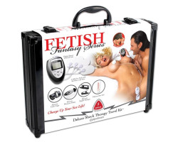 Набор для электросекса FF Series Deluxe Shock Therapy Travel Kit